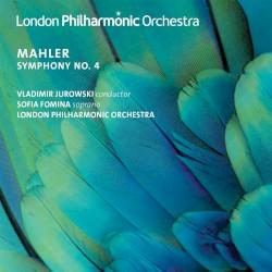 Symphony No. 4 by Gustav Mahler ;   Владимир Михайлович Юровский ,   Sofia Fomina ,   London Philharmonic Orchestra